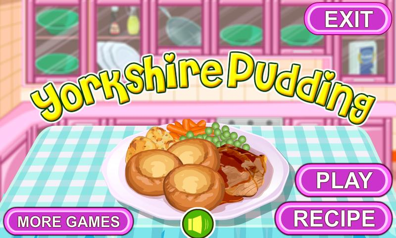 Yorkshire Pudding Cooking - screenshot