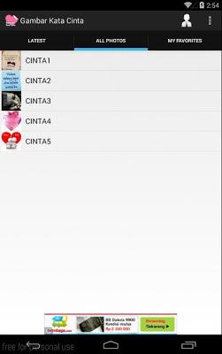 Gambar Kata Cinta - screenshot
