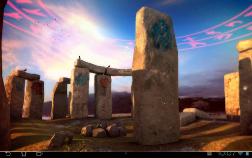 3D Stonehenge Pro lwp Apps für Android screenshot