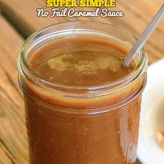 No Fail Caramel Sauce