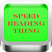Speed Reading Thing