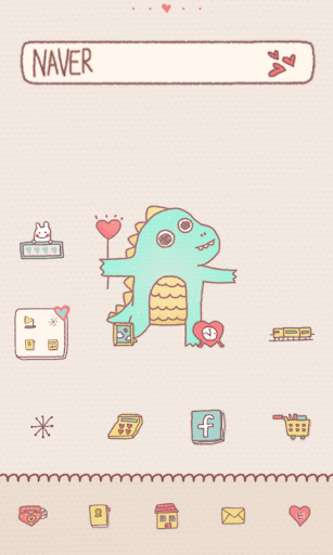 Lovely dodol launcher theme