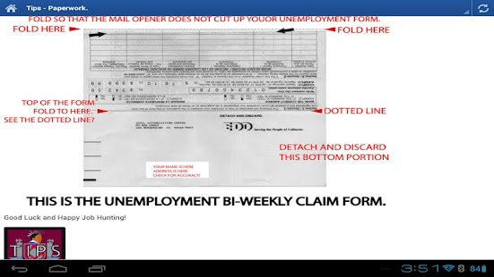 EDD HELP - Unemployment CA- screenshot thumbnail