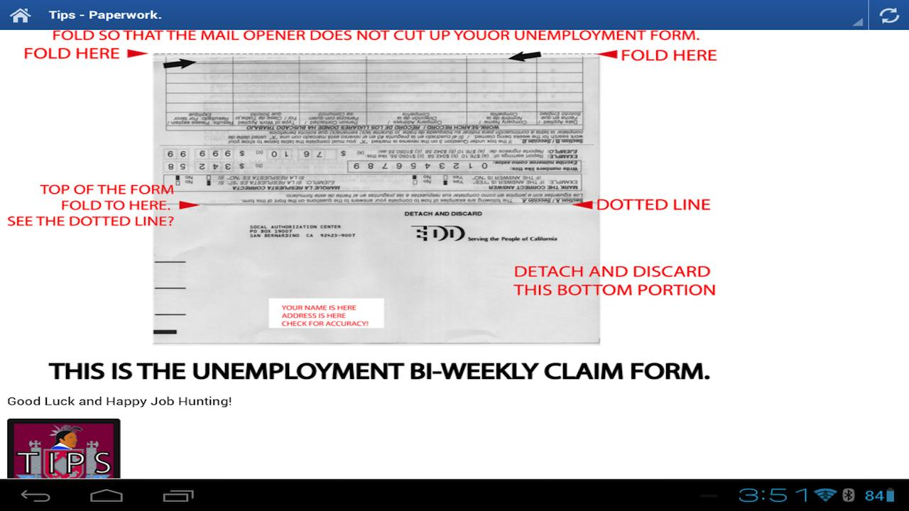 EDD HELP - Unemployment CA - screenshot