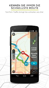 TomTom GO Mobile – GPS Karten Screenshot