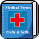 Medical Terms  Prefix & Suffix icon