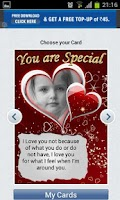 Screenshot of Love and Valentine Cards