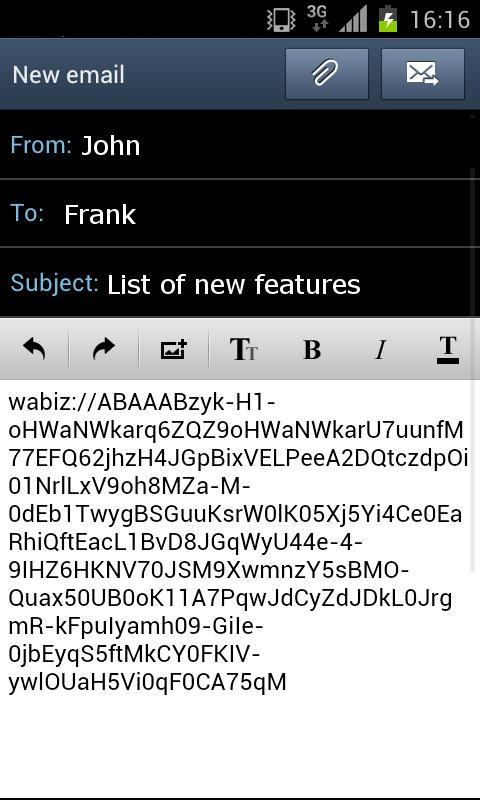 Wabiz- screenshot
