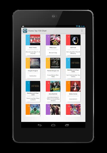【免費音樂App】Chartix: Android Music Charts-APP點子
