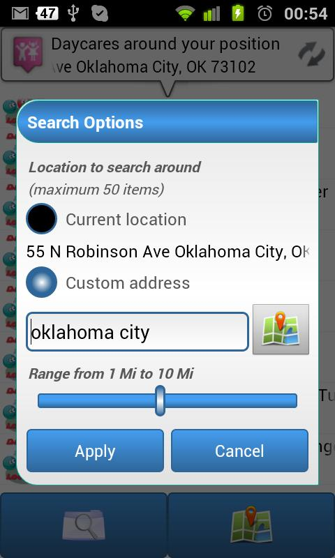 Ur Daycare Locator - screenshot