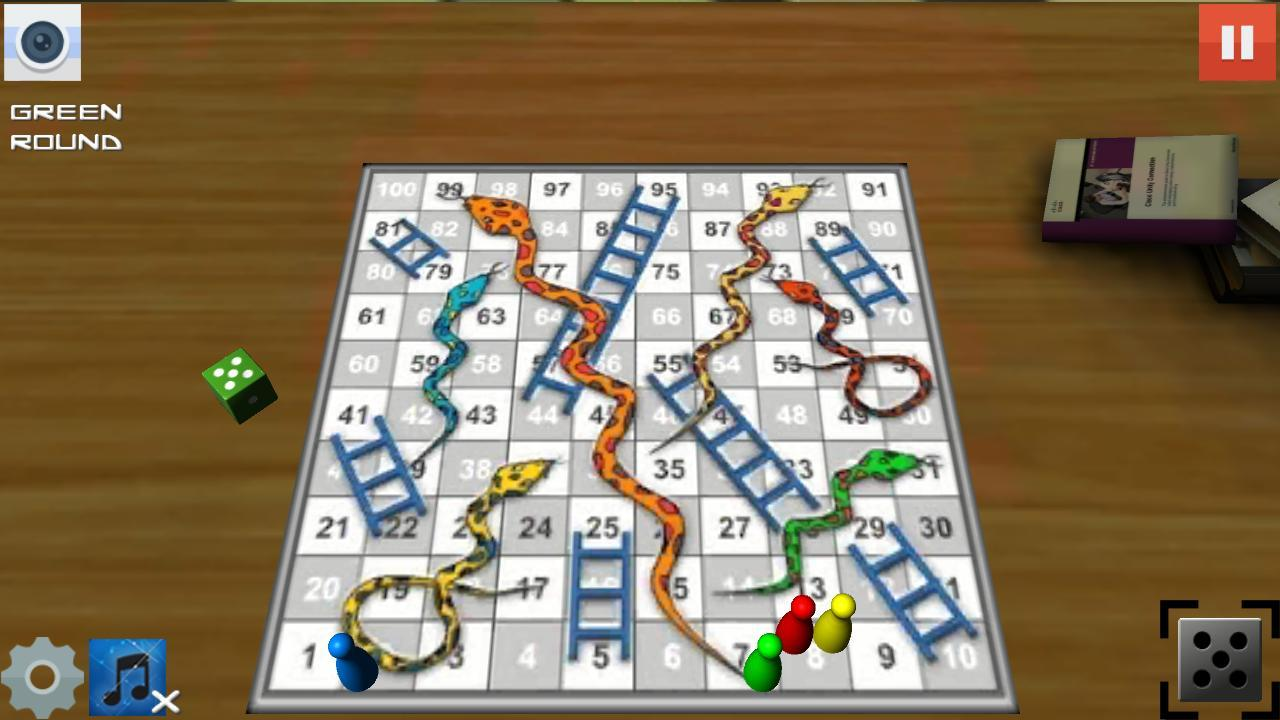 Snakes And Ladders Game- screenshot
