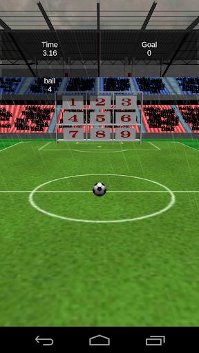 3D Struck Out Soccer Football