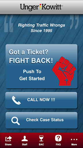 Fight Back - Ticket Attorney