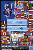 Screenshot of Flags & Countries trivia
