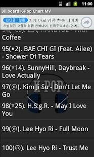 K-Pop Chart MV screenshot