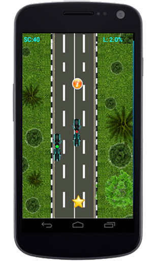 Highway Motor Bike Racing Game