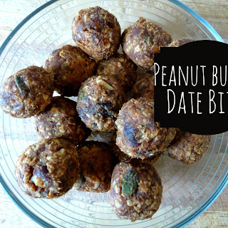 Peanut Butter Date Bites | Healthy & Delicious Snack.
