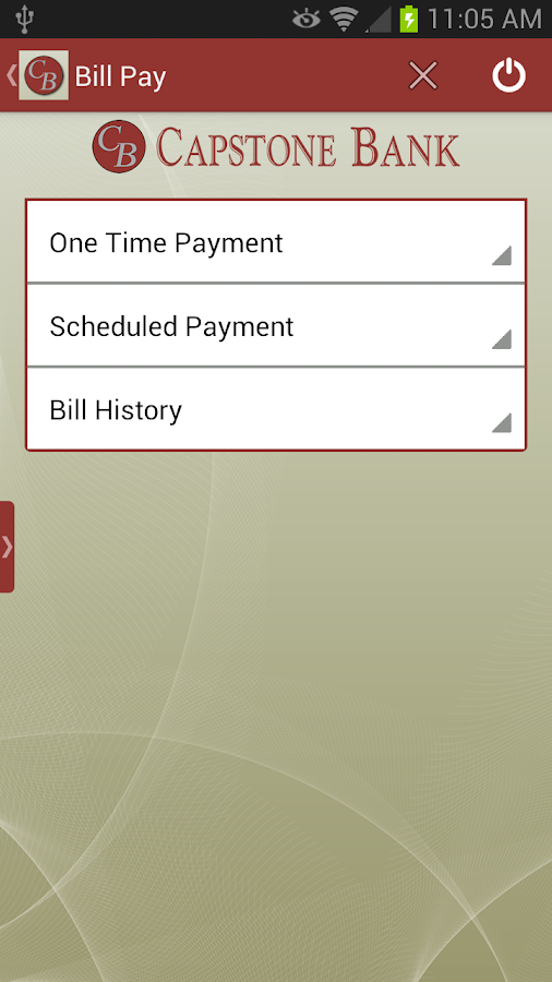 Capstone Bank AL Mobile App - screenshot