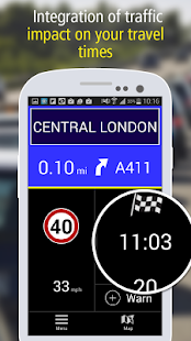 MICHELIN Navigation & Traffic - screenshot thumbnail
