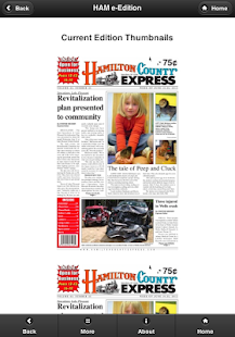 Hamilton County Express-Phone- screenshot thumbnail