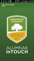 Screenshot of GA Alumnae inTouch