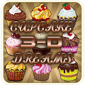 Next Launcher Free Cupcake 3d icon