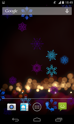 Psychedelic Snowflakes City