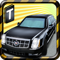 Limousine Parking 3D icon