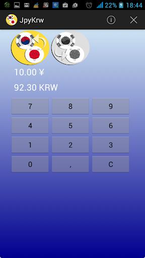 Won Yen Converter KRW JPY