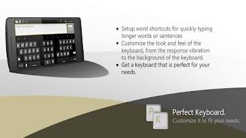 Screenshot of Perfect Keyboard Pro