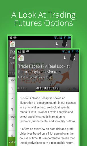 Trade Recap: Online Course