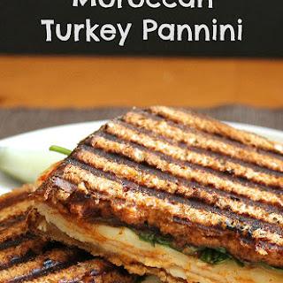 Moroccan Turkey Pannini