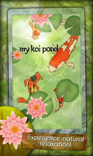 App free my koi pond android apps games android for Koi pond game online