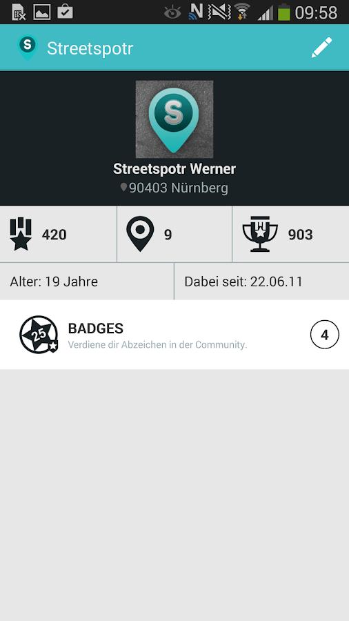 Streetspotr- screenshot