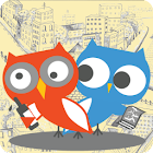 OwlTing Places,Photos&Friends icon