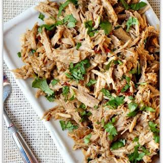 Slow Cooker Chipotle Shredded Pork