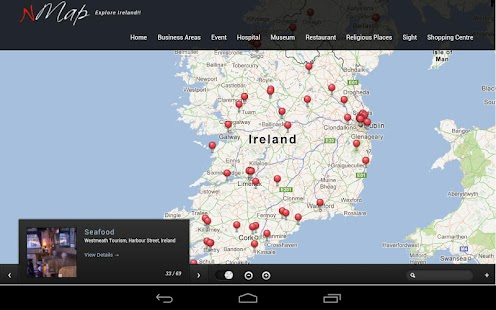 Ireland Interactive Guide nMap - screenshot thumbnail