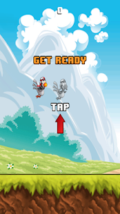 Fly Chooky Fly Flappo Chicken FREE- screenshot thumbnail