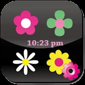Flower Flow! Clock Plugin
