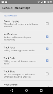 RescueTime Time Management- screenshot thumbnail