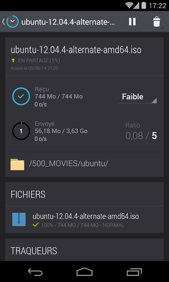 Kalici : Le compagnon Freebox- screenshot