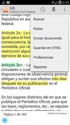 IUS - Tesis y Leyes de México - screenshot