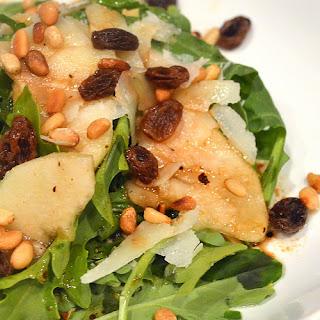 Arugula, Pecorino, Pine Nut, Pear Salad