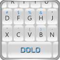 Berry White Keyboard THEME icon