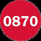SayNoTo0870 0844 0845 0800 icon