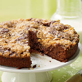 Sticky Date and Coconut Cake.