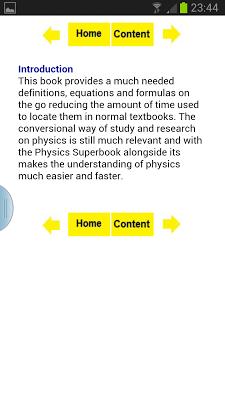 Physics Superbook - screenshot