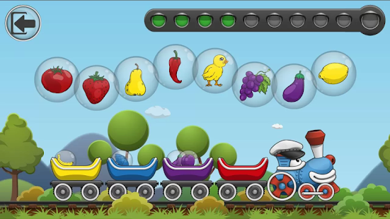 Rainbow Train: teach colors lv- screenshot thumbnail