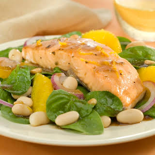 Tuscan Salmon Salad.