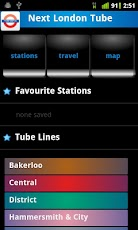 Next London Tube Live Timetable For android